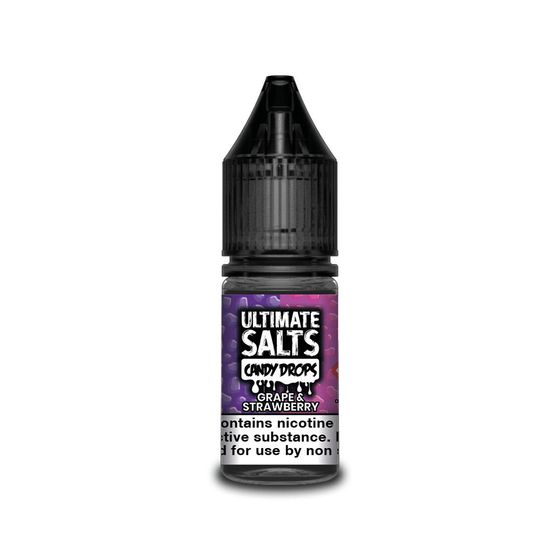 Ultimate Juice Ultimate Salts Candy Drops 10ml Flavor: Grape & Strawberry | Strength: 20mg/ml UK shop