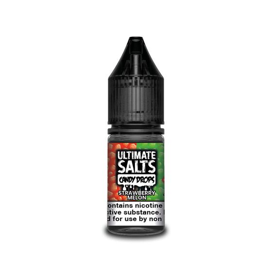authentic Ultimate Juice Ultimate Salts Candy Drops 10ml Flavor: Strawberry Melon | Strength: 20mg/ml