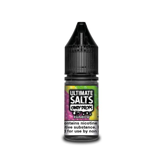 wholesale Ultimate Juice Ultimate Salts Candy Drops 10ml Flavor: Rainbow | Strength: 20mg/ml