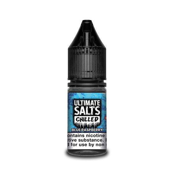 UK supplier Ultimate Juice Ultimate Salts Chilled 10ML Flavor: Blue Raspberry | Strength: 20mg/ml