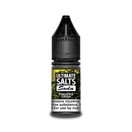 UK shop Ultimate Juice Ultimate Salts Soda 10ml Flavor: Pineapple Crush | Strength: 20mg/ml