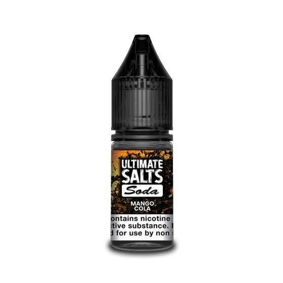 wholesale Ultimate Juice Ultimate Salts Soda 10ml Flavor: Mango Cola | Strength: 20mg/ml