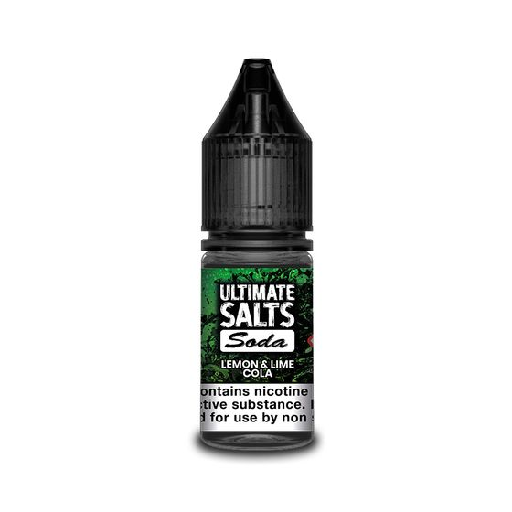 authentic Ultimate Juice Ultimate Salts Soda 10ml Flavor: Lemon & Lime Cola | Strength: 20mg/ml