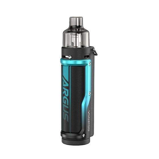 VOOPOO Argus Pro 80W Pod Kit 3000mAh with PNP Tank Type: TPD Edition | Color: Litchi Leather & Blue UK supplier