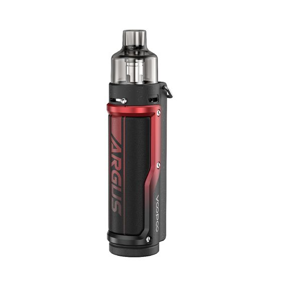 wholesale price VOOPOO Argus Pro 80W Pod Kit 3000mAh with PNP Tank Type: TPD Edition | Color: Litchi Leather & Red