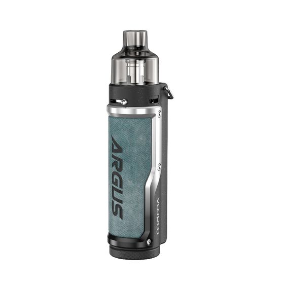 VOOPOO Argus Pro 80W Pod Kit 3000mAh with PNP Tank Type: TPD Edition | Color: Denim & Silver for wholesale