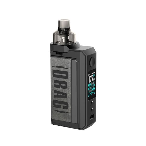 VOOPOO DRAG Max 177W TC Kit with PNP Tank Type: TPD Edition | Color: Vintage Grey wholesale