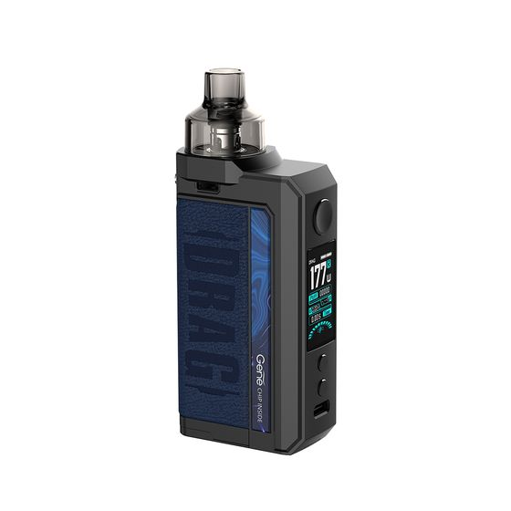 UK supplier VOOPOO DRAG Max 177W TC Kit with PNP Tank Type: TPD Edition | Color: Galaxy Blue