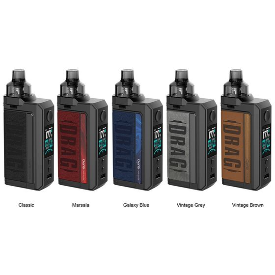 VOOPOO DRAG Max 177W TC Kit with PNP Tank UK shop