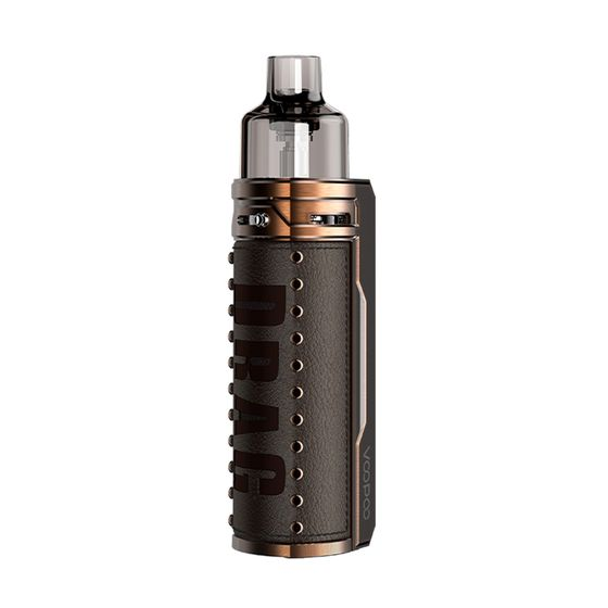 UK supplier VOOPOO DRAG S 60W VW Pod Kit 2500mAh Type: TPD Edition | Color: Bronze Knight