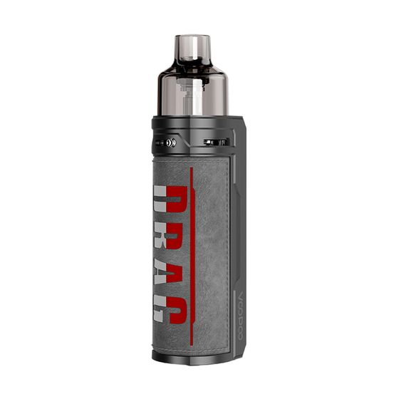 UK supplier VOOPOO DRAG S 60W VW Pod Kit 2500mAh Type: TPD Edition | Color: Iron Knight