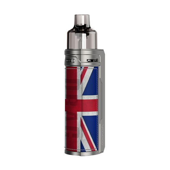 VOOPOO DRAG S 60W VW Pod Kit 2500mAh Type: TPD Edition | Color: Silver Knight UK shop