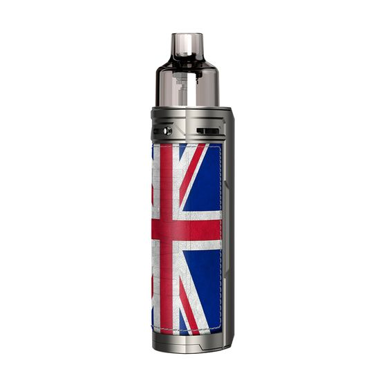 authentic VOOPOO DRAG X 18650 Mod Pod Kit Color: Silver Knight | Type: TPD Edition