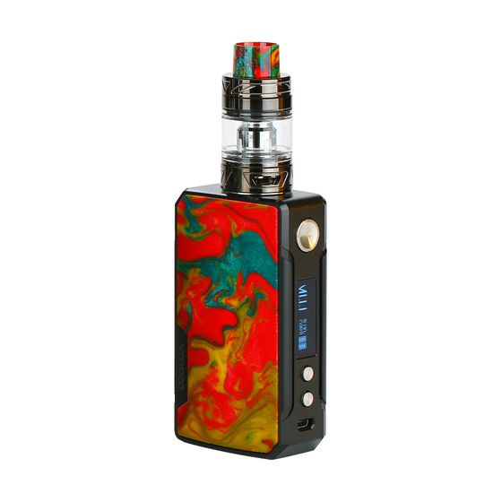 cheap VOOPOO Drag 2 177W TC Kit with UFORCE T2 Type: 2ml TPD Edition | Color: B-Fire Cloud