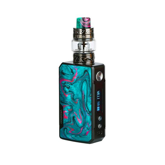 VOOPOO Drag 2 Platinum 177W TC Kit with UFORCE T2 Type: TPD Edition | Color: Platinum-Aurora UK shop