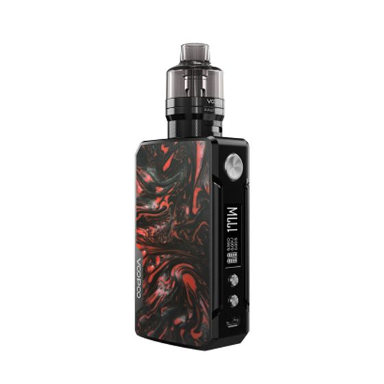 VOOPOO Drag 2 Refresh 177W TC Kit with PNP Tank Type: TPD Edition | Color: B-Scarlet wholesale price