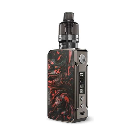VOOPOO Drag 2 Refresh Platinum 177W TC Kit with PNP Tank Color: Platinum-Scarlet | Type: TPD Edition UK wholesale