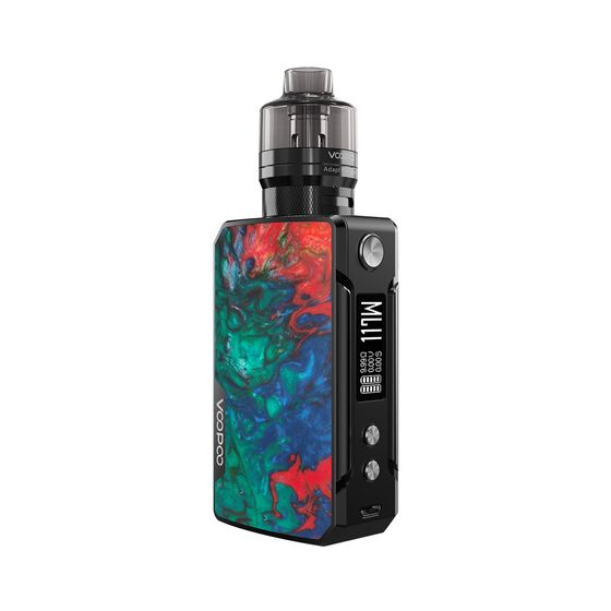 UK shop VOOPOO Drag Mini Refresh Edition 117W TC Kit With PNP Tank 4400mAh Color: B-Coral | Type: TPD Edition