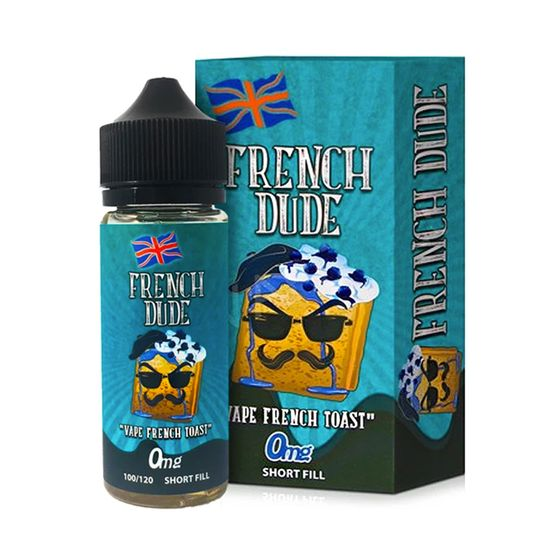 Vape Breakfast Classics 100ml Shortfill Flavor: French Dude | Strength: 0mg/ml UK wholesale