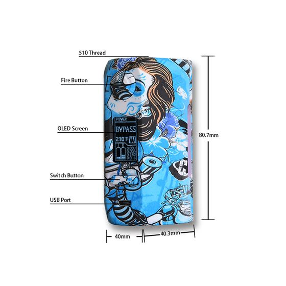 Vapor Storm Puma 200W TC Box MOD for wholesale