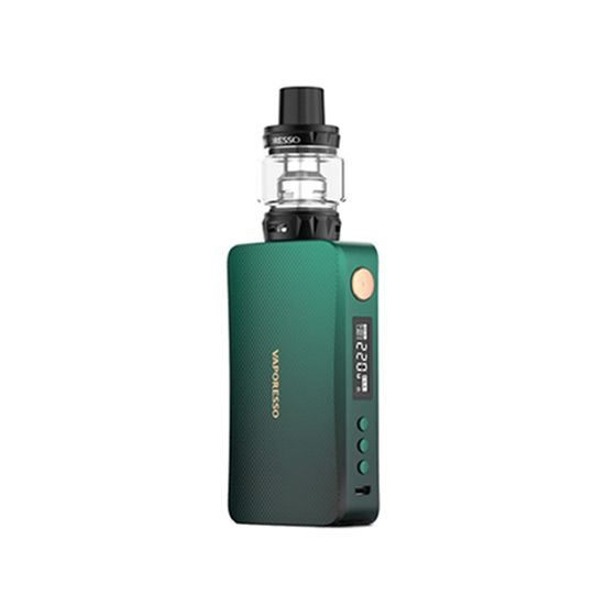 Vaporesso GEN 220W TC Kit with SKRR-S Black Green|2ml TPD Edition UK shop