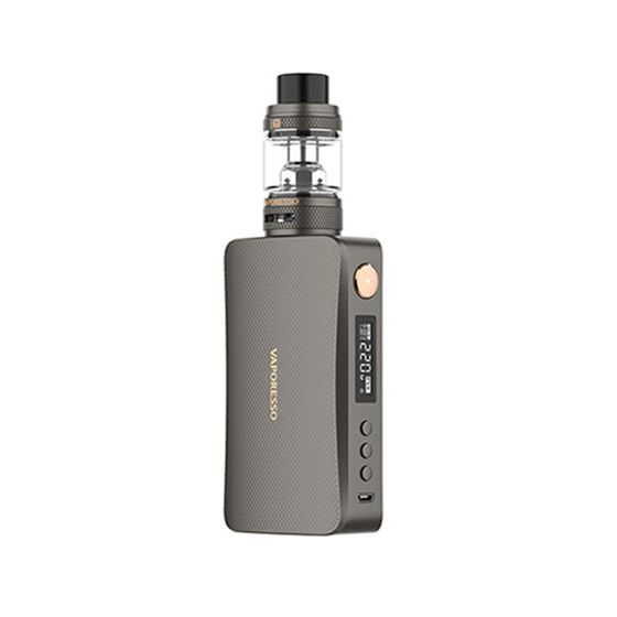 Vaporesso GEN S 220W TC Kit With NRG-S Tank Color: Matte Gray | Type: TPD Edition authentic