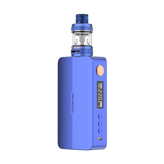 cheap Vaporesso GEN X 220W Kit with NRG-S Mini Tank Color: Sapphire Blue | Type: TPD Edition