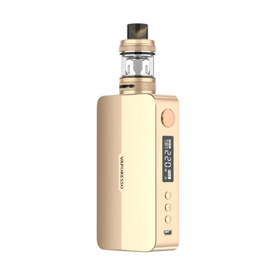 UK store Vaporesso GEN X 220W Kit with NRG-S Mini Tank Color: Matte Gold | Type: TPD Edition