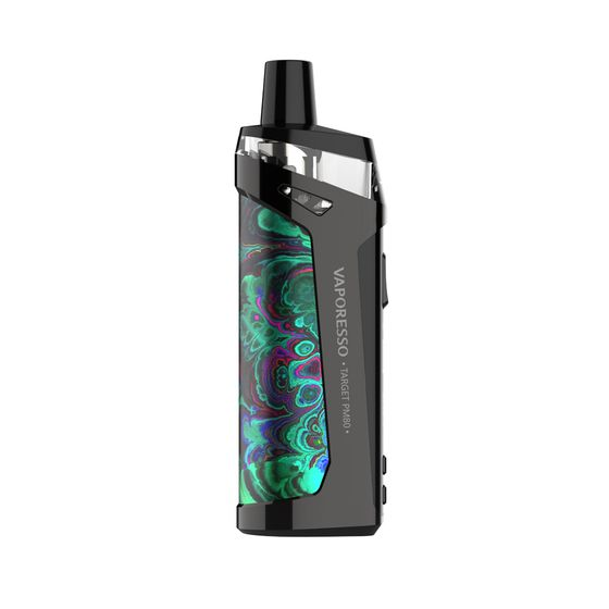 Vaporesso TARGET PM80 Sub-ohm Pod Mod Kit 2000mAh (Care Version with 4 Coils) Color: Green | Capacity: 2ml TPD Care Edition for wholesale