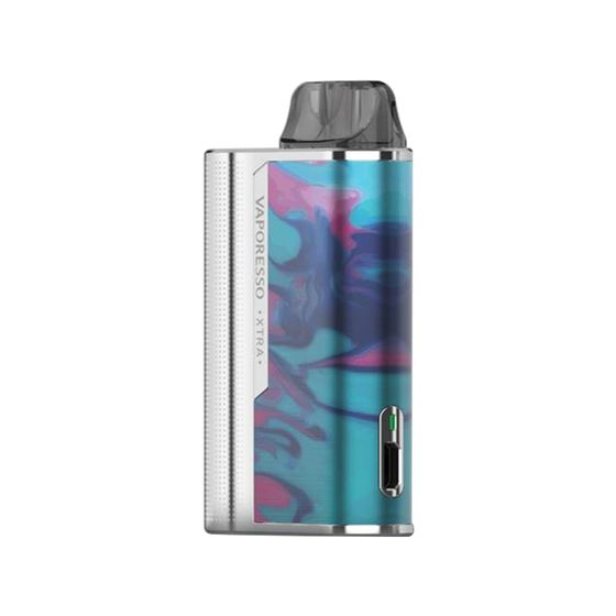 Vaporesso XTRA Pod Kit 900mAh Color: Silver Resin | Type: TPD Edition UK supplier
