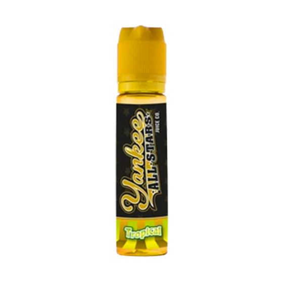 UK wholesale Yankee All Stars 50ml Shortfill Flavor: Tropical | Strength: 0mg/ml