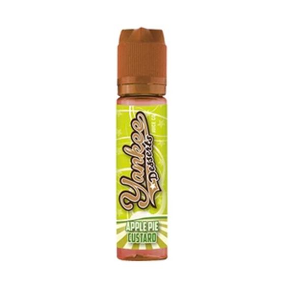 Yankee Desserts 50ml Shortfill Flavor: Apple Pie Custard | Strength: 0mg/ml UK wholesale