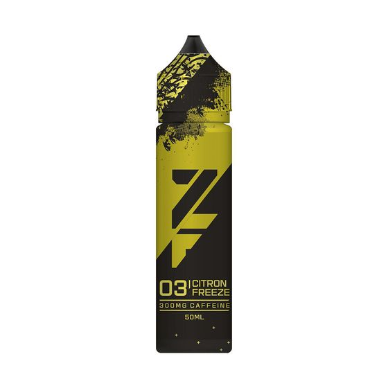UK shop Z FUEL 50ml Shortfill by Zap Juice Flavor: Citron Freeze | Strength: 0mg/ml
