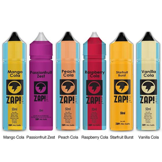 ZAP 50ml Shortfill by Zap Juice authentic
