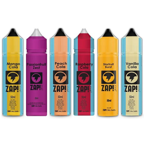 UK store ZAP 50ml Shortfill by Zap Juice