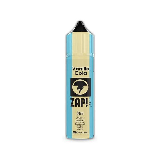 cheap ZAP 50ml Shortfill by Zap Juice Flavor: Vanilla Cola | Strength: 0mg/ml
