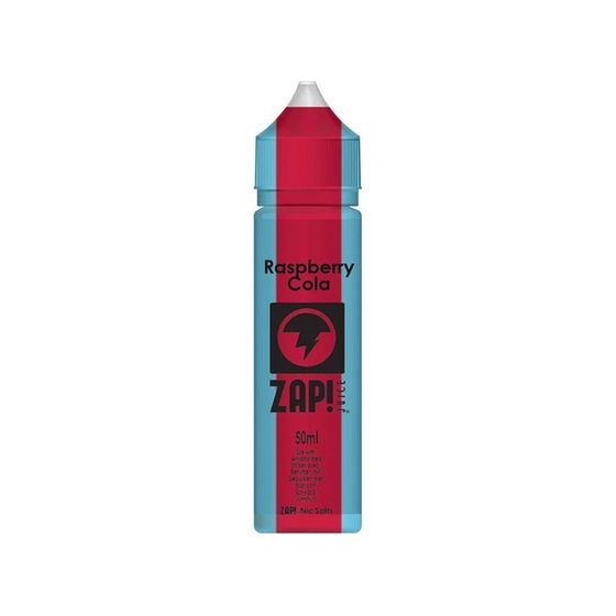 ZAP 50ml Shortfill by Zap Juice Flavor: Raspberry Cola | Strength: 0mg/ml wholesale