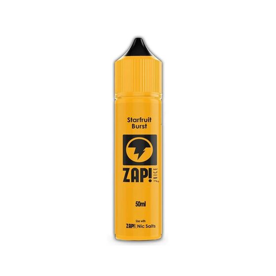 UK store ZAP 50ml Shortfill by Zap Juice Flavor: Starfruit Burst | Strength: 0mg/ml