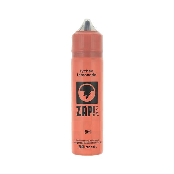 Zap 50ml Shortfill by Zap Juice Flavor: Lychee Lemonade | Strength: 0mg/ml UK supplier