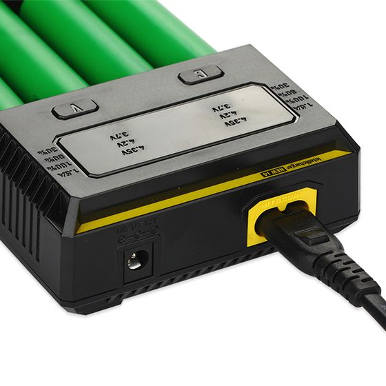 buy Nitecore Intellicharger New I4 Li-ion/NiMH Battery 4-slot Charger with UK Plug