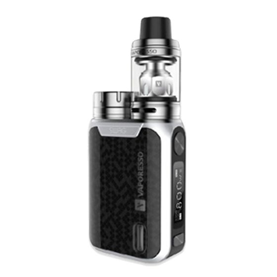 Vaporesso Swag 80W TC Kit with NRG SE Tank Color: Silver | Type: 2ml TPD Version online shop