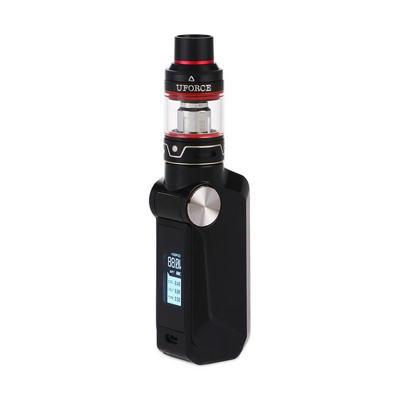 VOOPOO MOJO 88W with UFORCE TC Starter Kit 2600mAh Color: Black   Type: TPD Edition shop