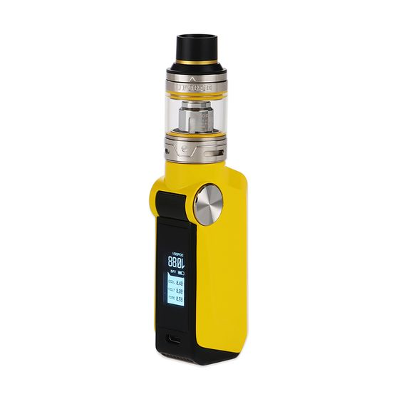 VOOPOO MOJO 88W with UFORCE TC Starter Kit 2600mAh Color: Yellow | Type: TPD Edition authentic