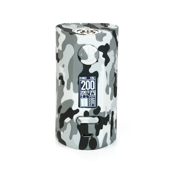 original Vapor Storm Puma 200W TC Box MOD Color: Camo Gray