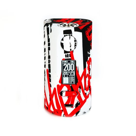 get Vapor Storm Puma 200W TC Box MOD Color: Graffiti#1