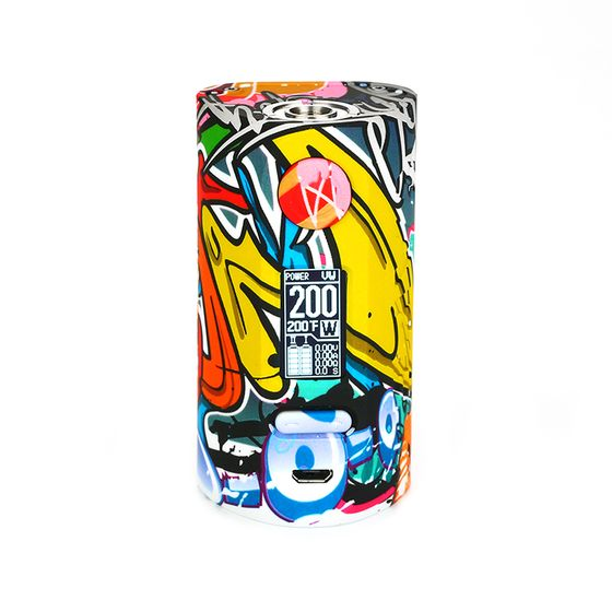 wholesale Vapor Storm Puma 200W TC Box MOD Color: Graffiti#2