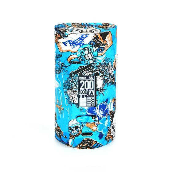 wholesale Vapor Storm Puma 200W TC Box MOD Color: Graffiti#3