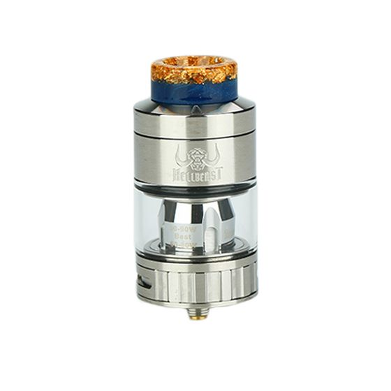 buy Hellvape Hellbeast Subohm Tank 2ml Color: SS | Type: 2ml TPD Edition