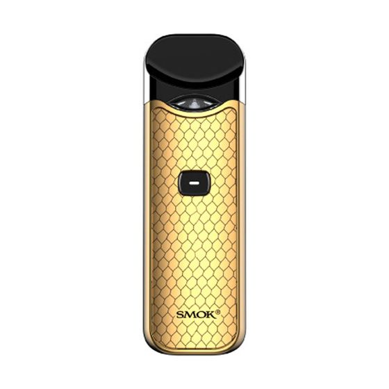 authentic SMOK Nord Pod Starter Kit 1100mAh Type: 2ml EU Edition | Color: Prism Gold