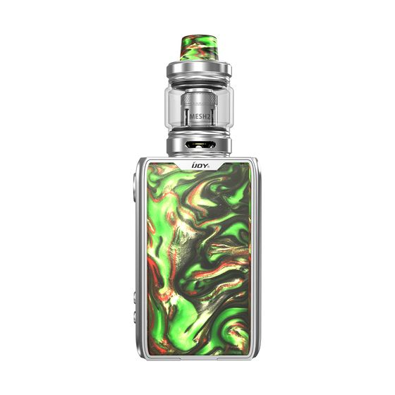 IJOY Shogun JR Resin 126W TC Kit 4500mAh Color: S-Specter Green | Type: TPD Edition original